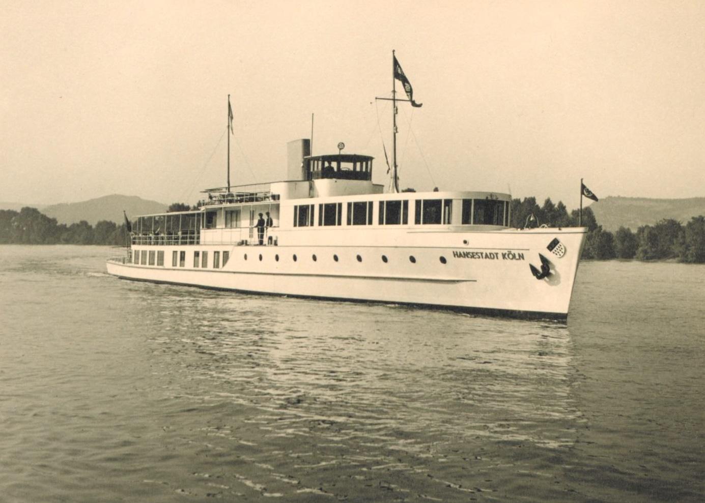Die Hansestadt Köln nach Fertigstellung 1938
